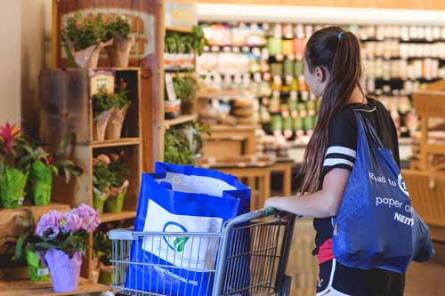 Smart shopping choices reduce landfill waste.